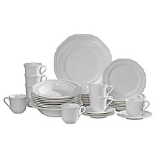 image of Mikasa® Antique White 42-Piece Dinnerware Set