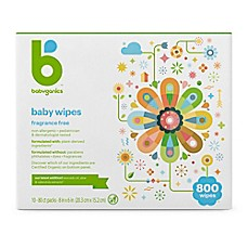 image of Babyganics® Fragrance-Free 800-Count Face, Hand, and Baby Wipes