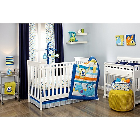 Disney 174 Monsters At Play Crib Bedding Collection Buybuy Baby