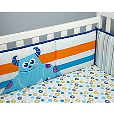 image of Disney® Monsters at Play 4-Piece Crib Bumper