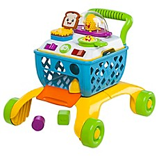image of Bright Starts™ Giggling Gourmet™ 4-in-1 Shop 'n Cook Walker™