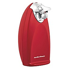 image of Hamilton Beach® Extra-Tall Electric Can Opener with SureCut™ Opening Technology