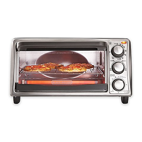 Black Amp Decker 4 Slice Toaster Oven Bed Bath Amp Beyond