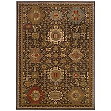 image of Oriental Weavers Casablanca Rug in Brown