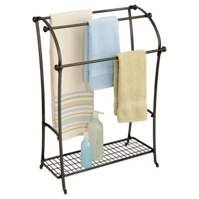 Bath Towel Racks Stands Holders Warmers Bed Bath Beyond