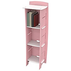 image of Legare® Princess 6-Shelf Tool-Free Bookcase in Pink
