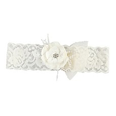 image of Ivy Lane Design™ Bianca Garter in Ivory