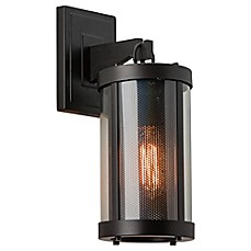 image of Feiss Bluffton Outdoor Wall Sconce in Oil Rubbed Bronze