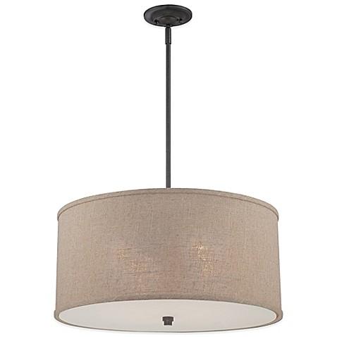 quoizel cloverdale 4 light ceiling mount pendant