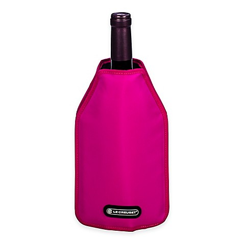 Buy Le Creuset 174 Wine Cooler Sleeve In Pink From Bed Bath