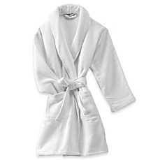 image of Haven Spa Waffle Robe in White
