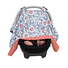 image of Balboa Baby® Car Seat Canopy in Grey Dahlia