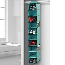 image of studio 3b 10shelf hanging shoe organizer