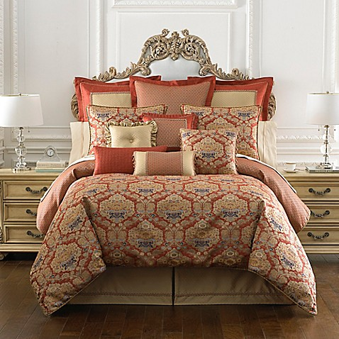 Waterford 174 Linens Olympia Reversible Comforter Set In