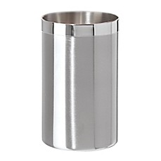 image of Two-Tone Satin Stainless Steel Wine Cooler