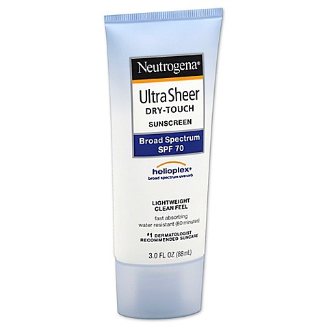 Neutrogena ultra sheer 70