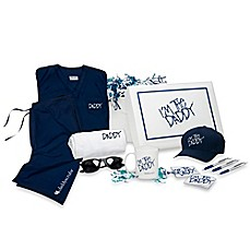 image of Daddy & Co.™ DaddyScrubs Edgy Swag Box Set in Navy
