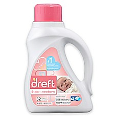image of Dreft High Efficiency Liquid Detergent in 50-Ounces (32 Loads)