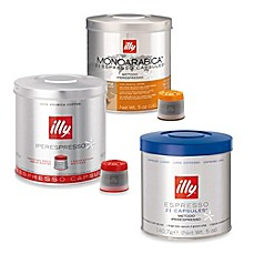 image of illy® iperEspresso Signature Blend & MonoArabica Capsules for iperEspresso Machines