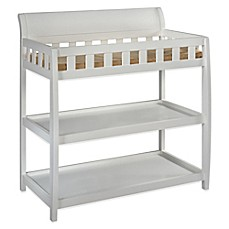 Amazing Image Of Delta™ Children Bentley 2 Shelf Changing Table In White