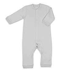 image of Tadpoles™ by Sleeping Partners Organic Cotton Footless Snap-Front Romper in Grey