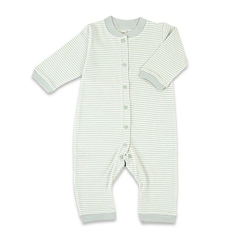 Tadpoles™ by Sleeping Partners Organic Cotton Footless Snap-Front Romper in Sage