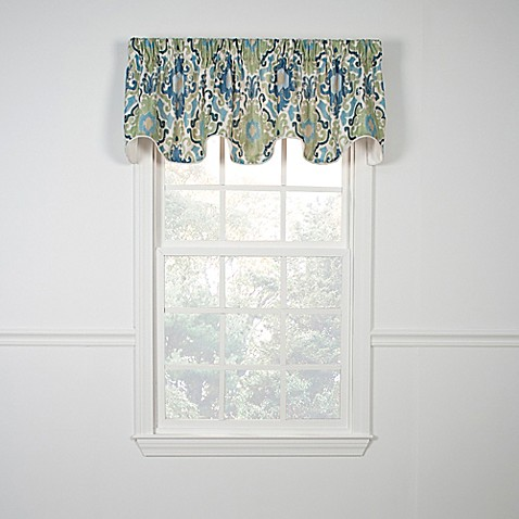 tuscany scallop valance in - bed bath & beyond
