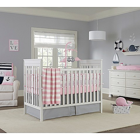 Nautica Kids 174 Mix Amp Match Crib Bedding Collection In Pink