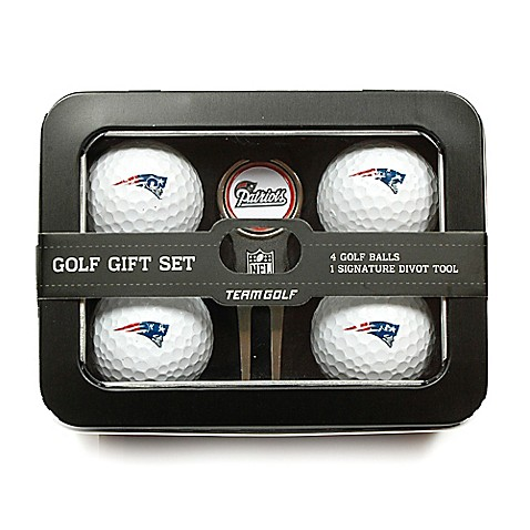 nfl new england patriots 5 piece golf ball and divot tool. Black Bedroom Furniture Sets. Home Design Ideas