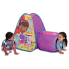 image of Disney® Doc McStuffins Hide About Play Tent with Tunnel