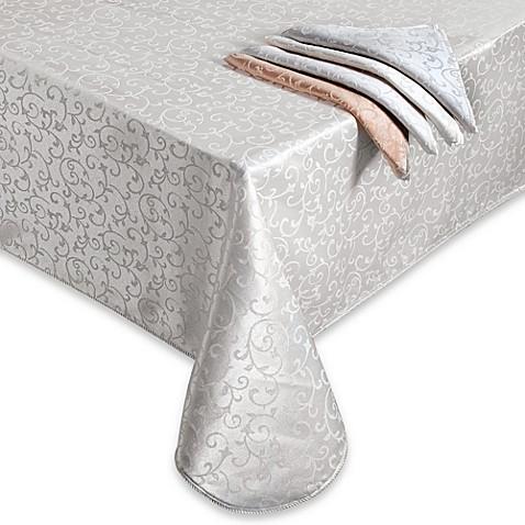 Lenox 174 Opal Innocence Oblong Tablecloth Bed Bath Amp Beyond
