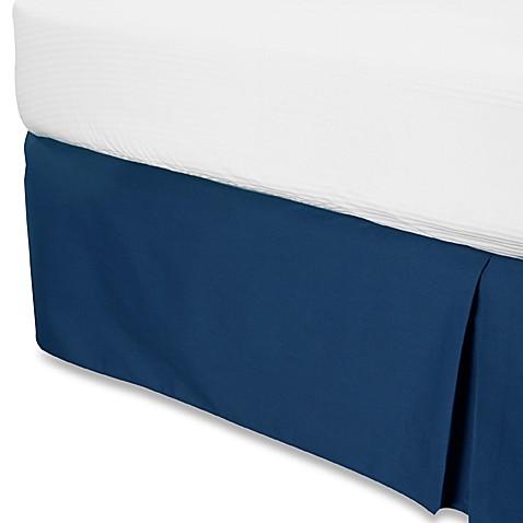 smoothweave 14 inch tailored bed skirt bed bath beyond. Black Bedroom Furniture Sets. Home Design Ideas