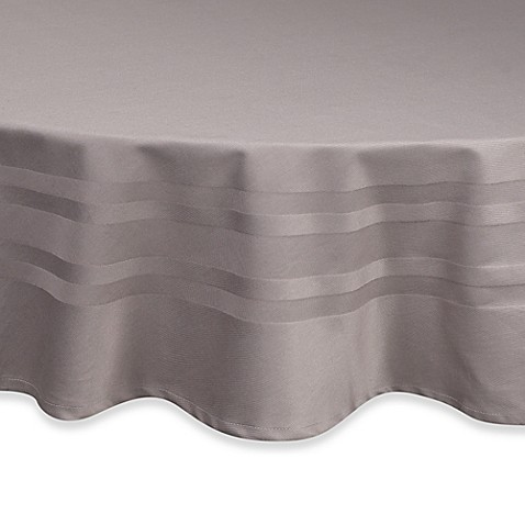 Buy Wamsutta 174 Classic 70 Inch Round Tablecloth In Grey