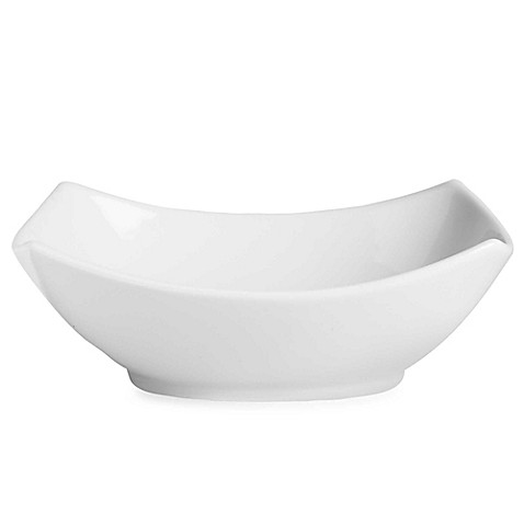Everyday White® by Fitz and Floyd® Large Rectangular 4-Point Bowl