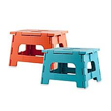 image of kikkerland design rhino ii folding step stool - Folding Step Stool
