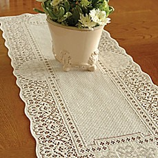 Superior Image Of Heritage Lace® Canterbury Classic Table Runner