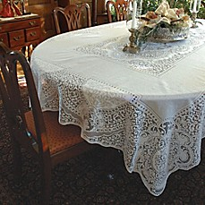 Heritage Lace® Canterbury Tablecloth ...