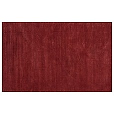 image of KAS Transitions Area Rug in Brick Red Horizon