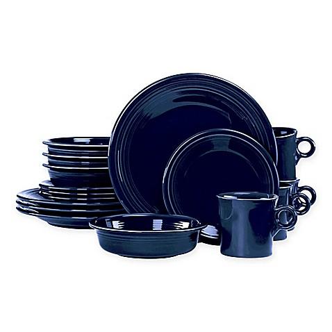 Fiestau0026reg; 16-Piece Dinnerware Set in Cobalt Blue  sc 1 st  Bed Bath u0026 Beyond & Fiesta® 16-Piece Dinnerware Set in Cobalt Blue - Bed Bath u0026 Beyond