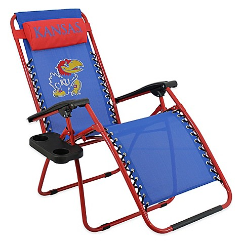 University Of Kansas Zero Gravity Chair Bed Bath Amp Beyond