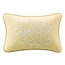 image of INK+IVY Zahira Embroidered Oblong Throw Pillow