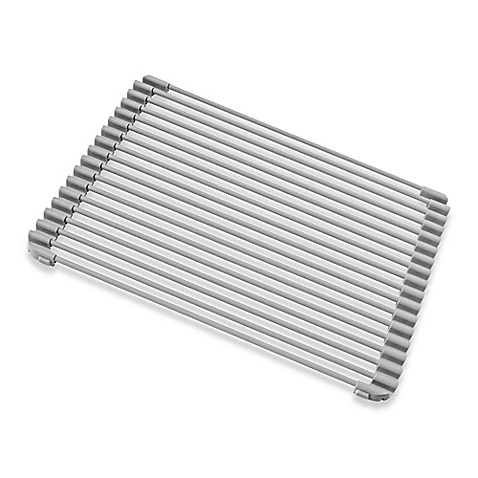 Buy Roll Up Medium Kitchen Sink Protector In Grey From Bed
