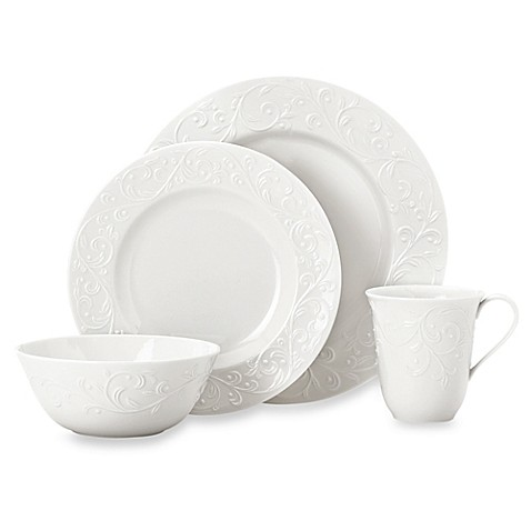 Lenoxu0026reg; Opal Innocenceu0026trade; Carved Porcelain Dinnerware Collection  sc 1 st  Bed Bath u0026 Beyond & Lenox® Opal Innocence™ Carved Porcelain Dinnerware Collection - Bed ...