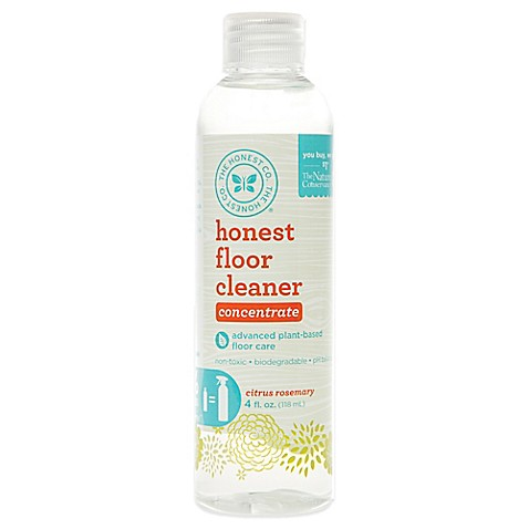 Honest 4 Oz Citrus Rosemary Floor Spray Cleaner Refill Bed Bath Beyond