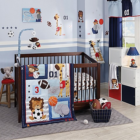 Lambs Amp Ivy 174 Future All Star Crib Bedding Collection Bed
