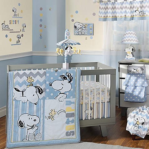 Lambs Ivy Reg My Little Snoopy Trade Crib Bedding Collection