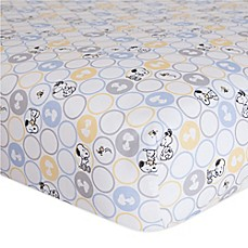 image of Lambs & Ivy® My Little Snoopy™ Fitted Crib Sheet