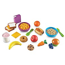 image of Learning Resources 20-Piece New Sprouts Munch It My Very Own Play Food Set