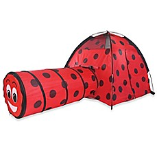 image of Pacific Play Tents Ladybug Play Tent with Tunnel