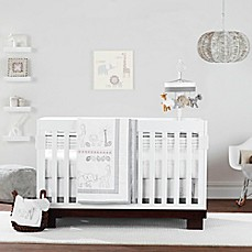 image of Just Born® Animal Kingdom Crib Bedding Collection